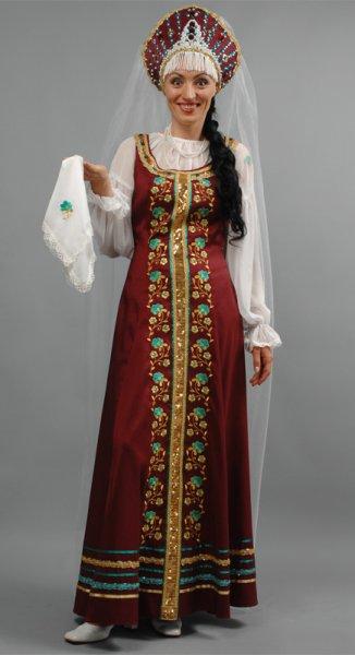 vestiti russi tradizionali